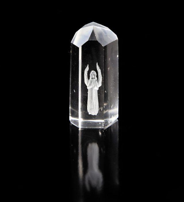Angel Engraved Crystal